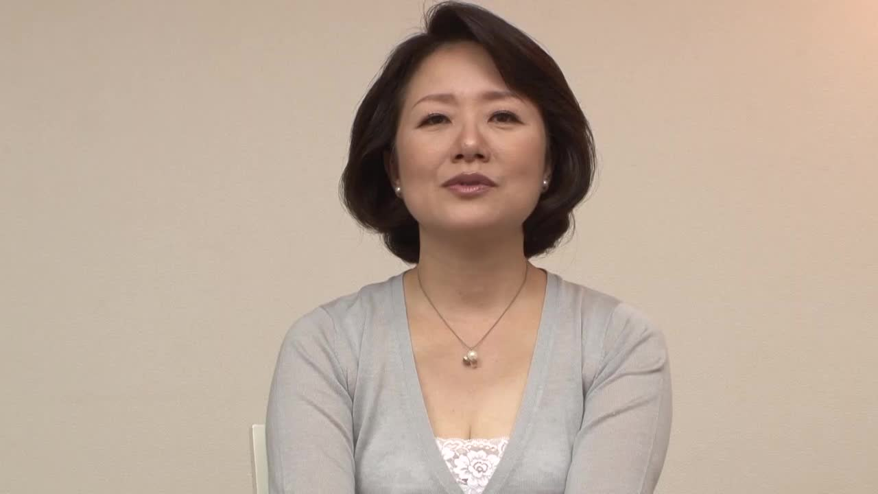 【可憐】《並木かおる BBA》可憐で真面目なおばさんが初脱ぎ初撮りH...